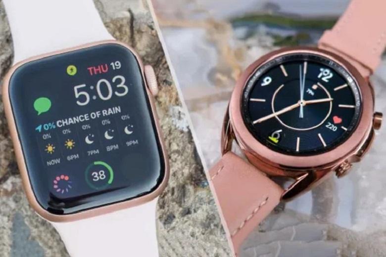 So sánh Samsung Galaxy Watch 3 và Apple Watch Series 5