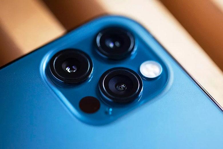 cận cảnh camera iphone 12 pro max