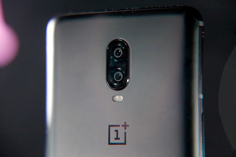 cụm camera của oneplus 6t