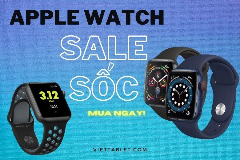 Apple Watch giảm giá sốc dịp cuối năm