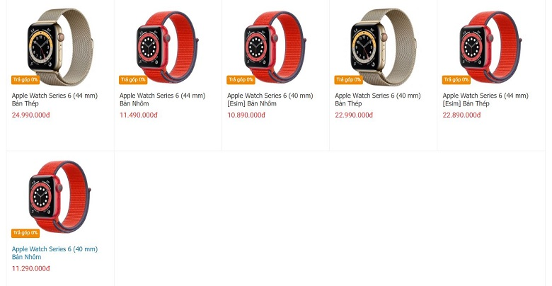 mua Apple Watch Series 6