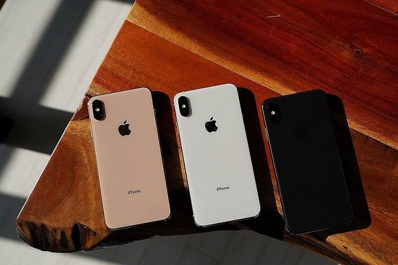 thiết kế iPhone XS Mới