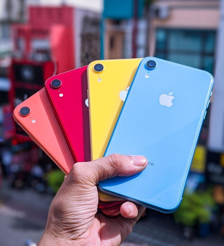 thiết kế iphone xr