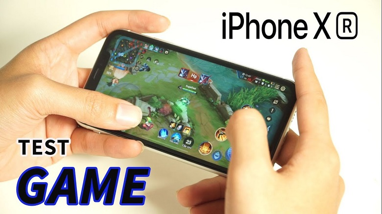 test game iphone xr