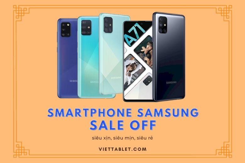 top 3 smartphone samsung chính hãng giá rẻ tại viettablet