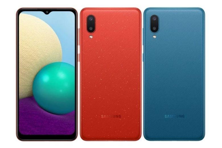 Samsung Galaxy A02 (2020) màu sắc