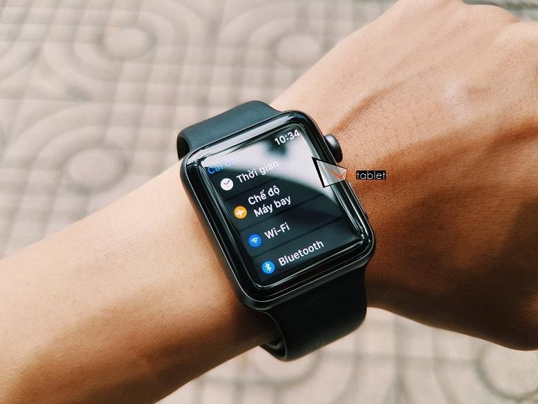 hiển thị apple watch series 3