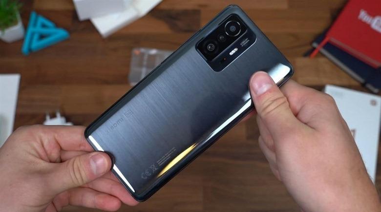 thiết kế Xiaomi mi 11T pro