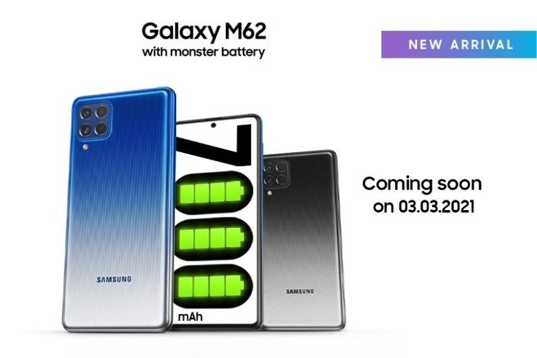 samsung galaxy m62 ra mắt