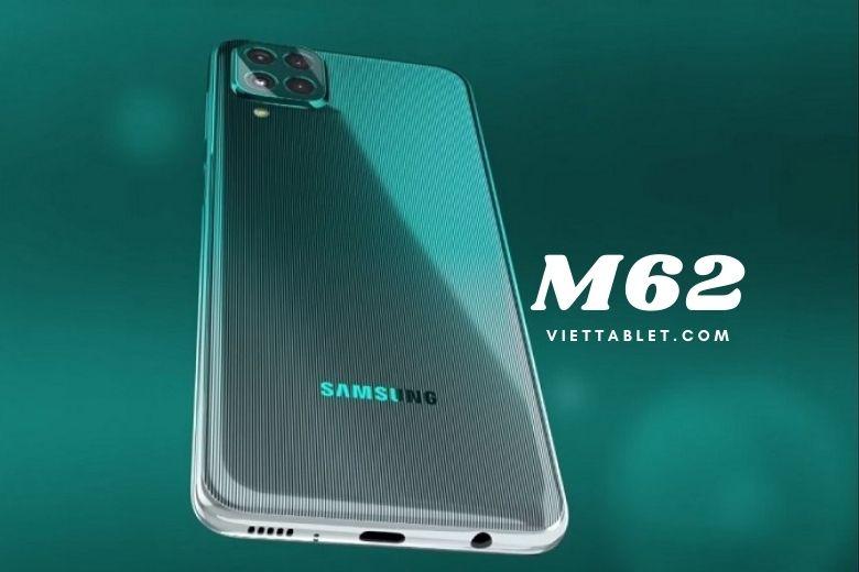 thiết kế samsung galaxy m62