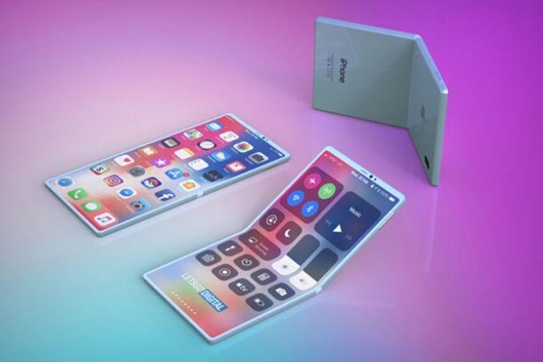 iphone màn hình gập thiết kế