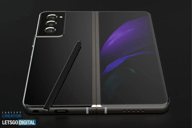 Samsung galaxy z fold 3 có bút s-pen