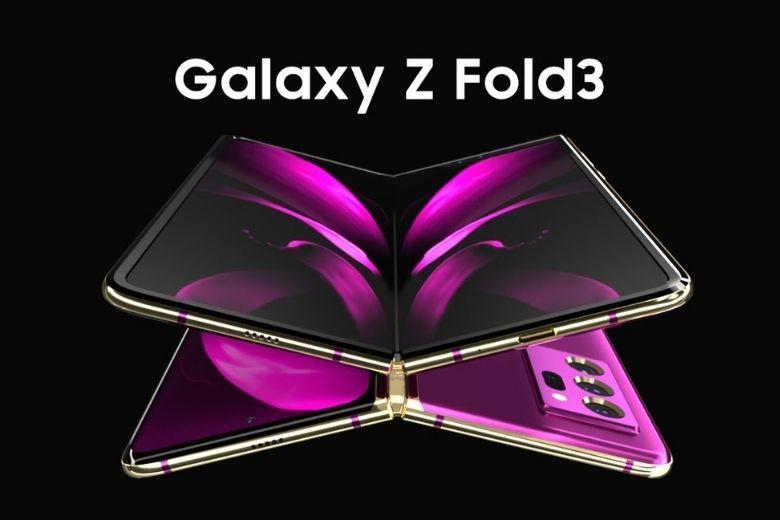 thiết kế samsung galaxy z fold 3