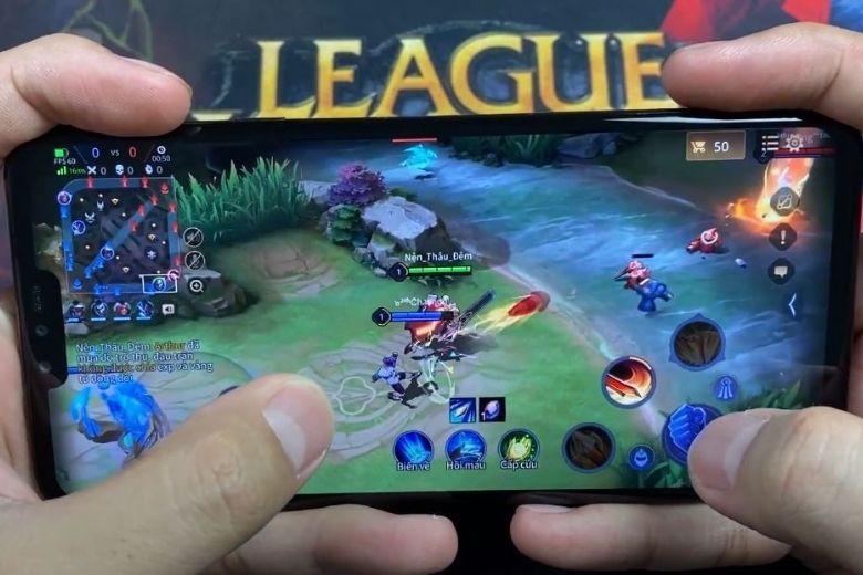Test game với LG V40 ThinQ