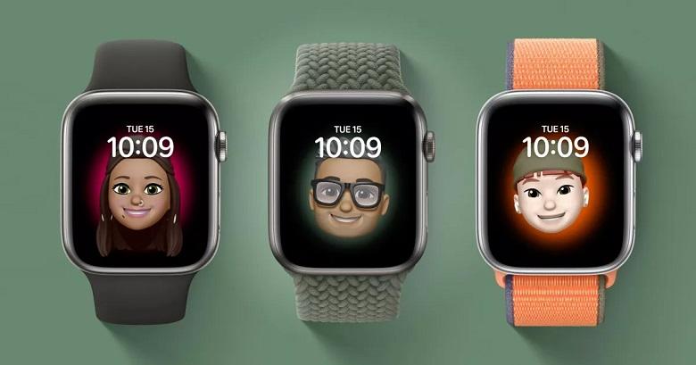mặt đồng hồ mới của hđh WatchOS 7