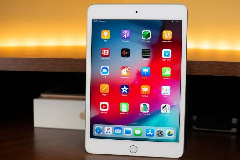 thiết kế iPad Mini 5 2019 mới tbh