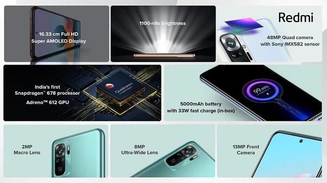 camera Xiaomi Redmi Note 10
