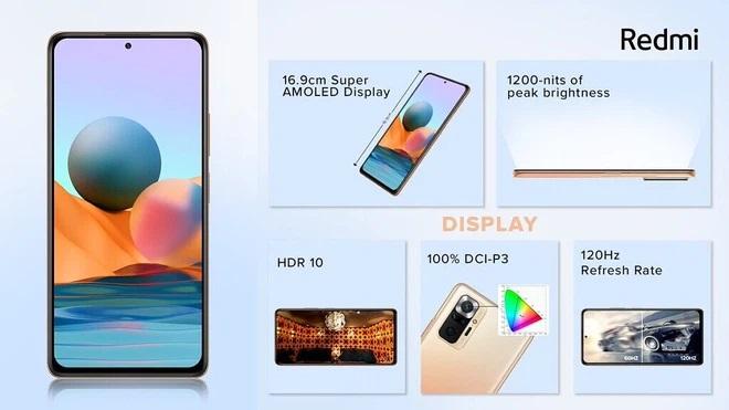 màn hình Xiaomi Redmi Note 10 Series