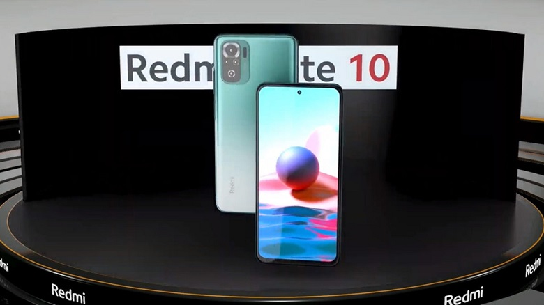 thiết kế Xiaomi Redmi Note 10