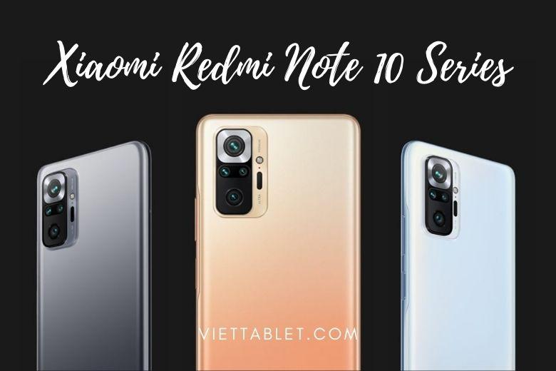 màu sắc xiaomi redmi note 10 series