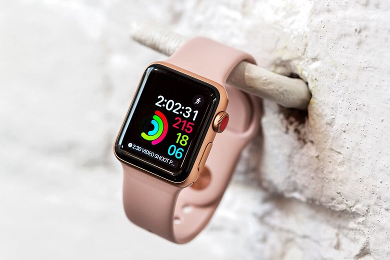 đánh giá apple watch series 3