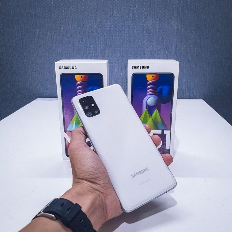 ảnh thực tế Samsung Galaxy M51