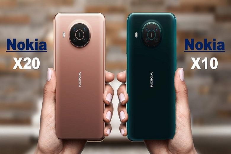 So sánh Nokia X10 vs X20