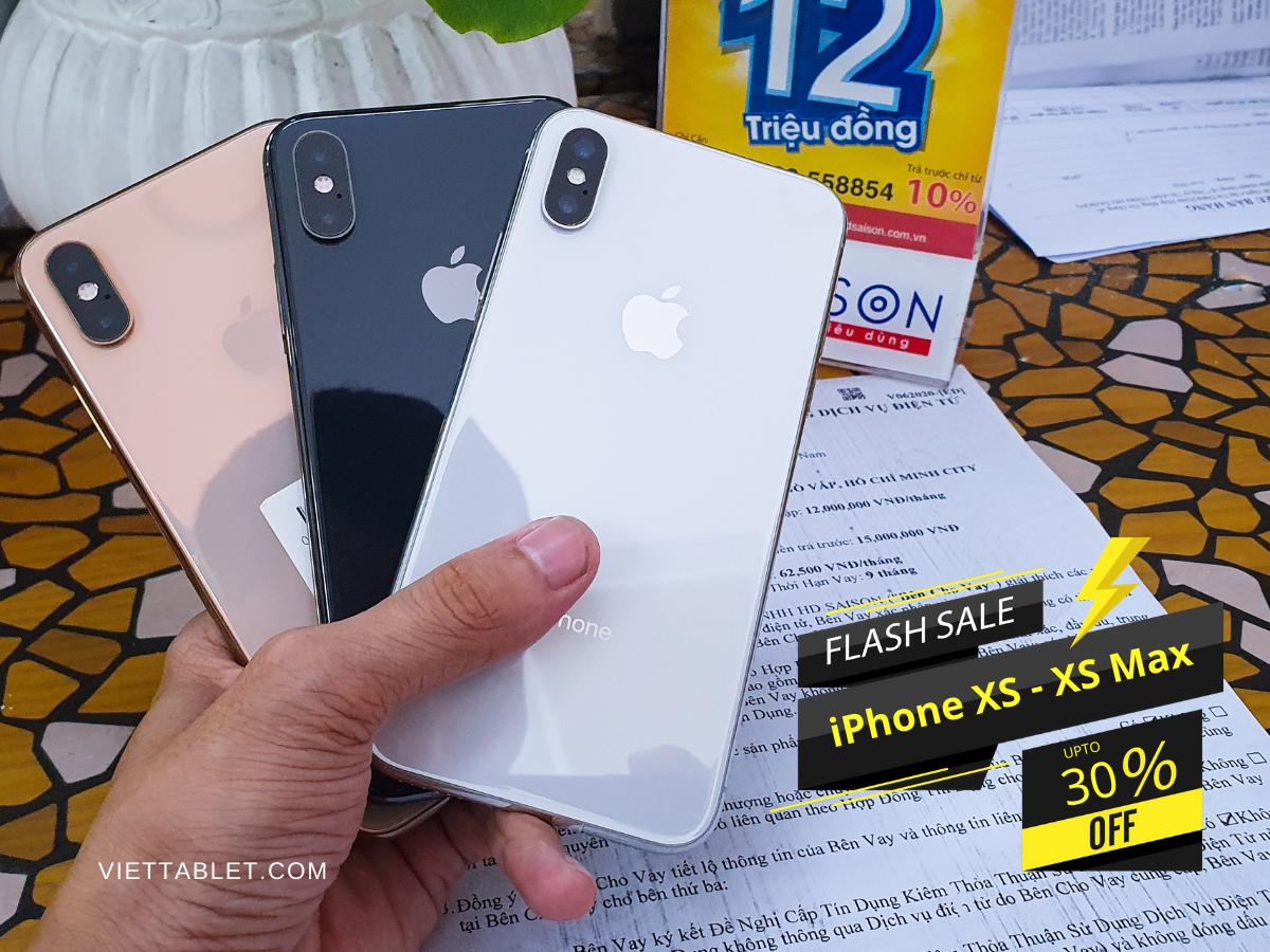 iPhone XS-XS Max sale off toàn bộ sản phẩm