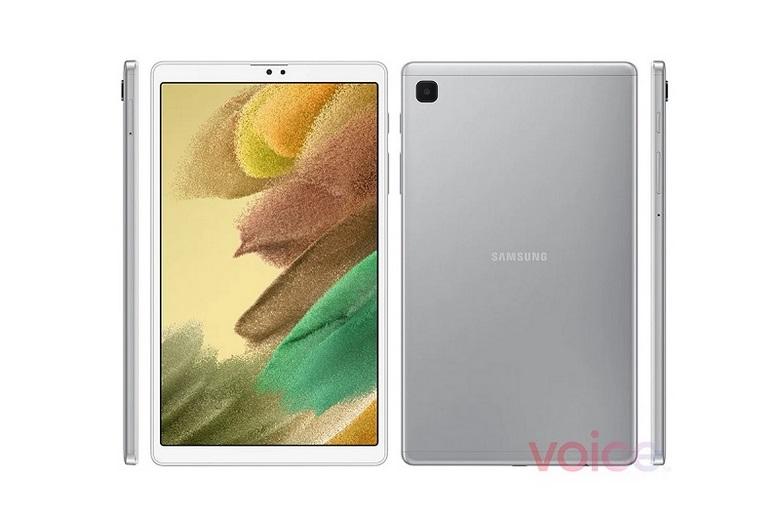 hình ảnh render của  Galaxy Tab A7 Lite