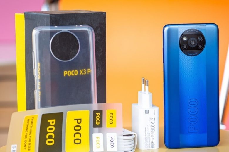 đập hộp Poco X3 Pro