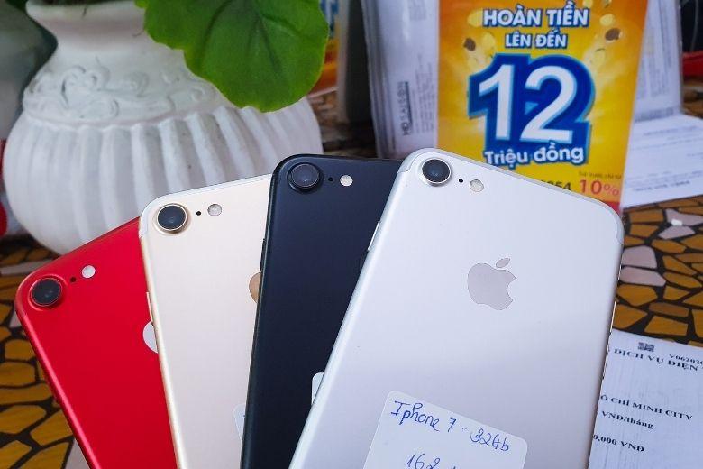thiết kế iphone 7 cũ tại viettablet