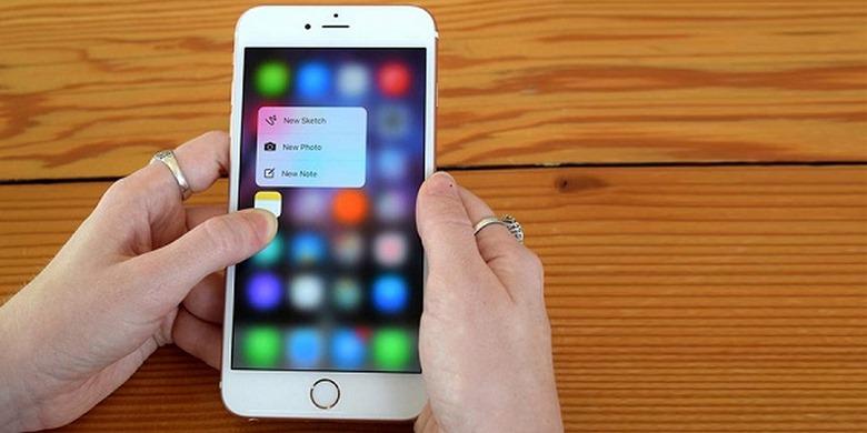 test màn hình iphone cũ