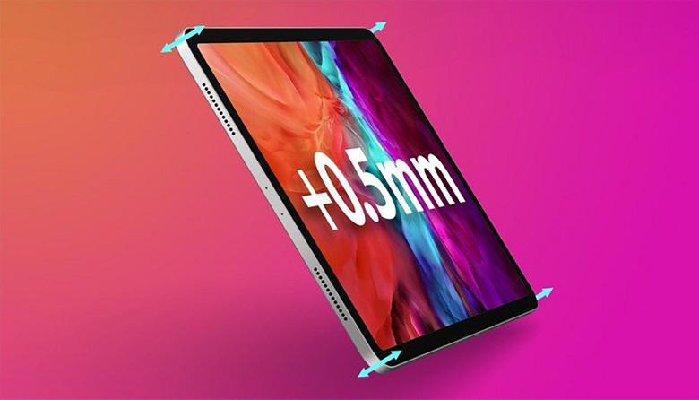 iPad Pro 2021 dày hơn ipad pro 2020
