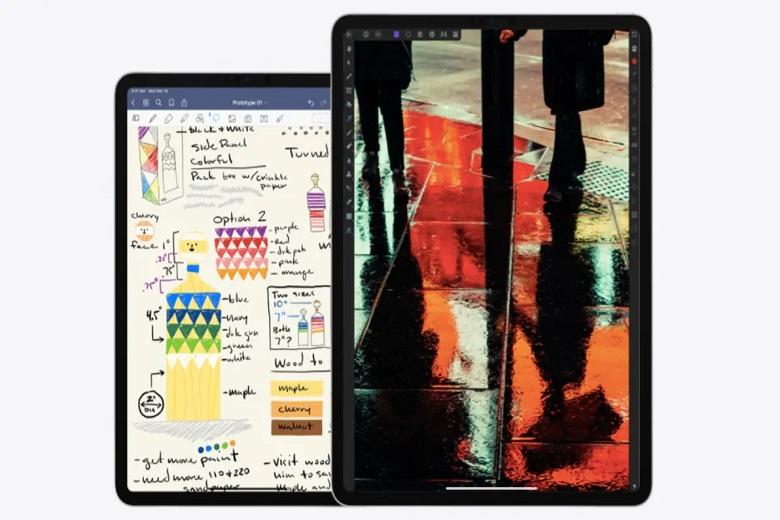 so sánh iPad Pro 2021