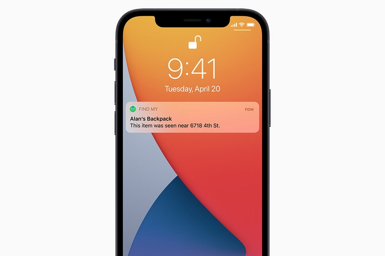 kết nối Apple AirTag