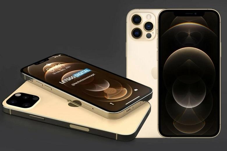 cạnh dưới của iPhone 13