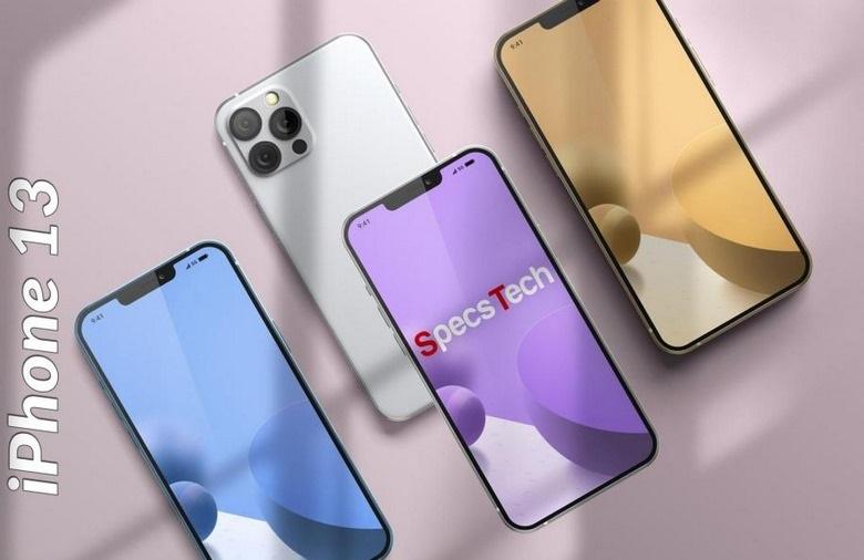màu sắc của iPhone 13