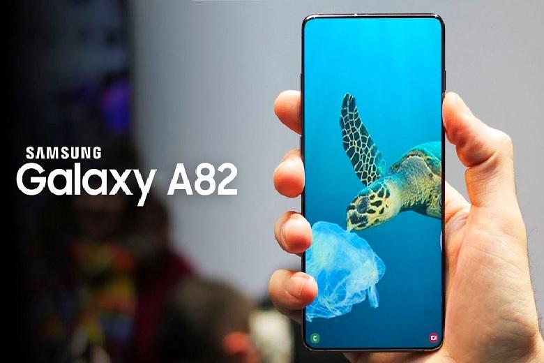 hình ảnh thực tế của Samsung Galaxy A82