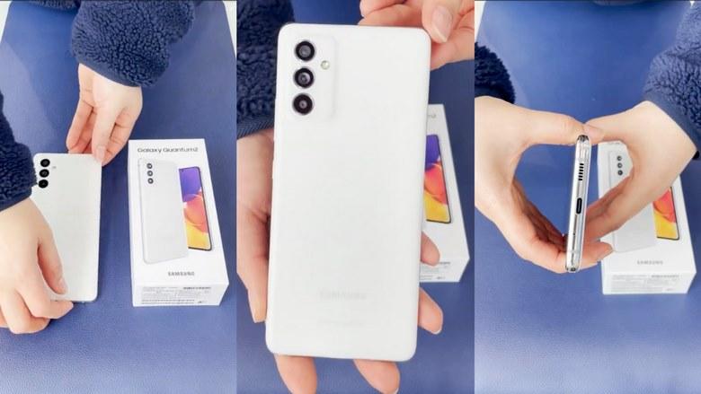 camera Galaxy A82 5G