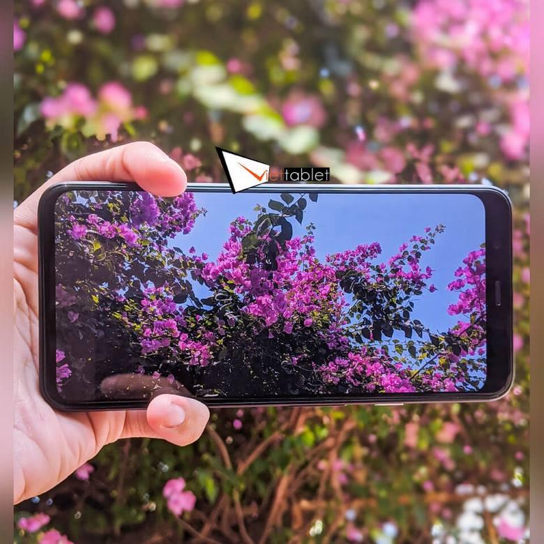 test camera pixel 4 xl
