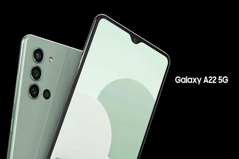 Thông số cấu hình về Samsung Galaxy A22