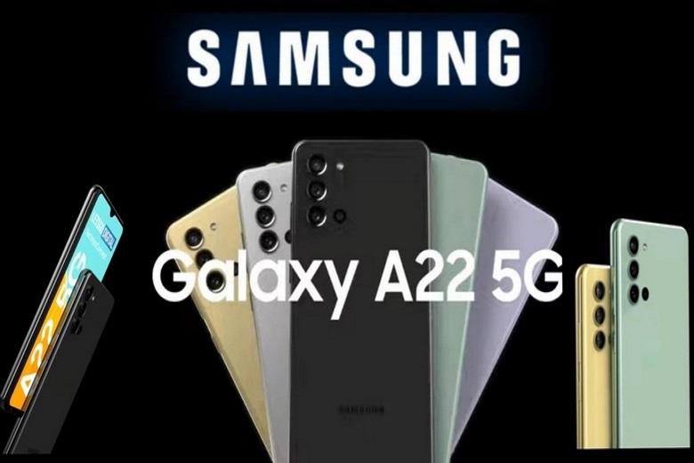 màu sắc Samsung Galaxy A22