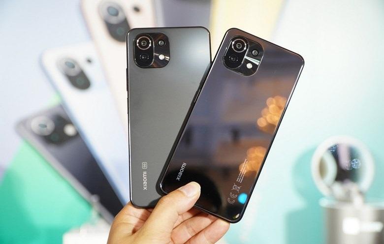 so sánh Xiaomi Mi 11 Lite 4G vs Xiaomi Mi 11 Lite 5G