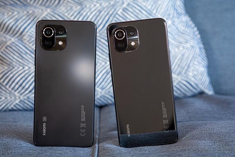 Xiaomi Mi 11 Lite 4G vs Xiaomi Mi 11 Lite 5G