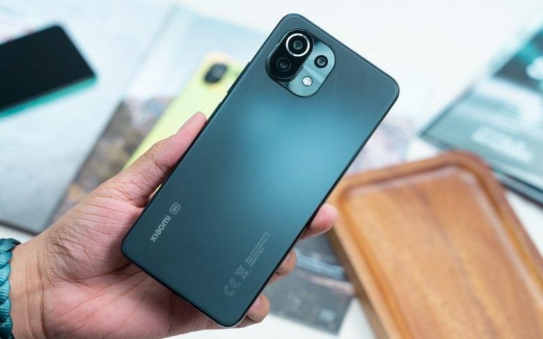 mặt lưng Xiaomi Mi Lite 5G