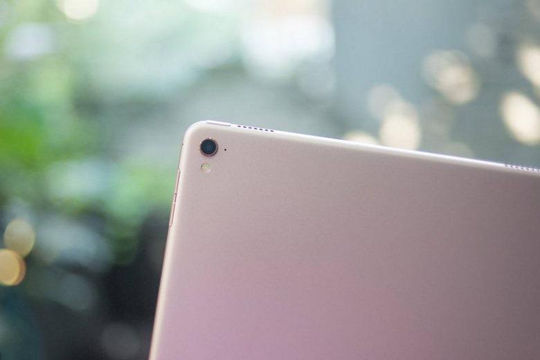 camera iPad Pro 9.7 inch