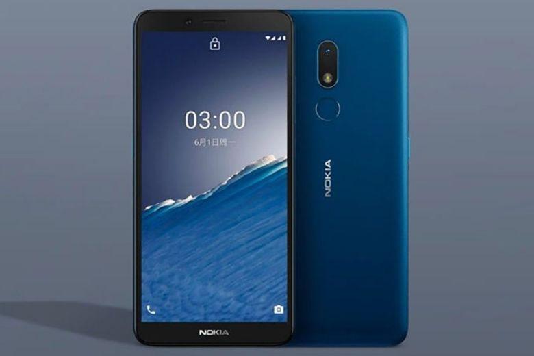 Nokia C30 thiết kế