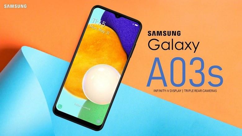 màn hình Galaxy A03s