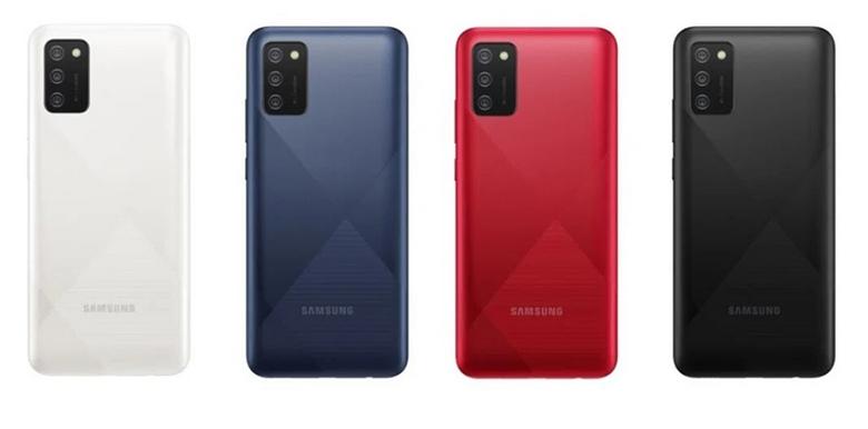Galaxy A03s màu sắc