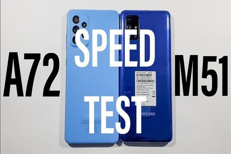 So sánh Samsung Galaxy M51 vs Galaxy A72